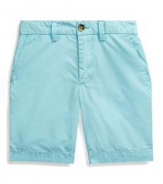 Ralph Lauren Little Boys Island Aqua Poplin Shorts