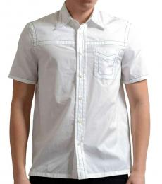 White Button-Down Dress Shirt
