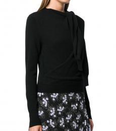 Chloe Black Cashmere Crew Neck Sweater