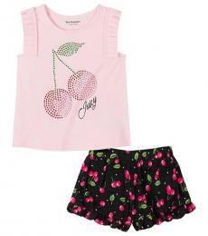 Juicy Couture 2 Piece Top/Shorts Set (Girls)