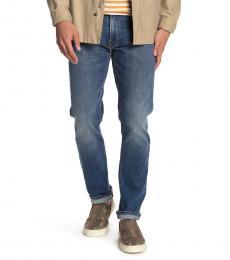 Lucky Brand Blue Slim Straight Leg Jeans