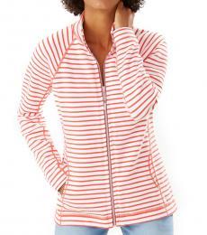 Red Aruba Striped Jacket