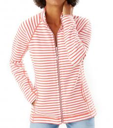 Tommy Bahama Red Aruba Striped Jacket
