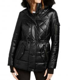 Michael Kors Black Active Puffer Coat