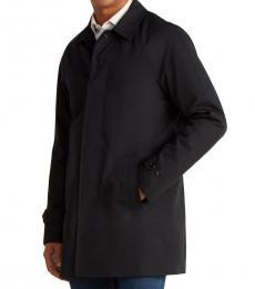 Michael Kors Black Colin Slim Fit Raincoat