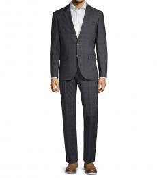 Karl Lagerfeld Dark Grey Extra Slim-Fit Suit
