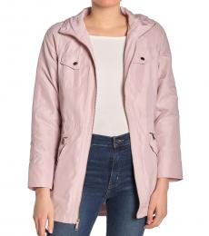 Michael Kors Light Pink Missy Hooded Anorak