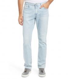AG Adriano Goldschmied Light Blue Everett Slim Straight Leg Jeans