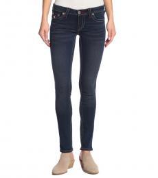 True Religion Luxe Indigo Skinny Stretch Jeans