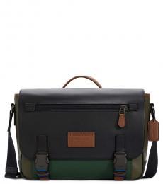 Coach Olive Track Large Messenger Bag