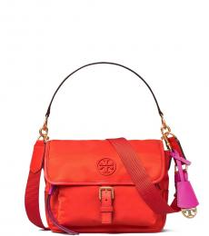 Tory Burch Orange Perry Small Crossbody Bag
