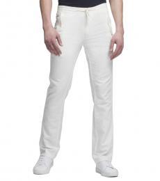 Marshmallow Linen-Cotton Pant