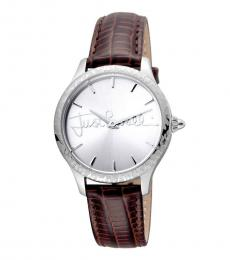 Brown Plisse Sophisticated Watch