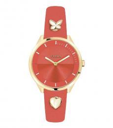 Orange Stylish Edgy Watch