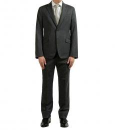 Armani Collezioni Grey Regular Fit Wool Suit