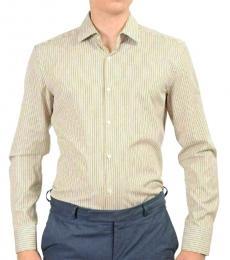 Beige Multi-Color Casual Shirt