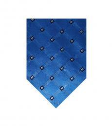 Michael Kors Blue Neat Printed Tie