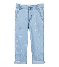 Stella McCartney Boys Blue Chambray Jeans