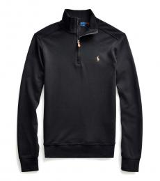 Ralph Lauren Boys Black Interlock Pullover