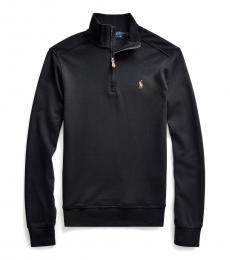 Ralph Lauren Boys Black Interlock Pullover
