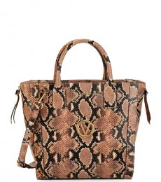 Rose Charmont Embossed Large Satchel