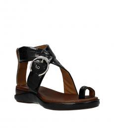 Chloe Black Toe Ring Sandals