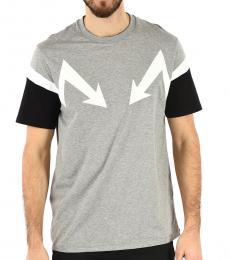 Grey Arrow Thunderbolt T-Shirt