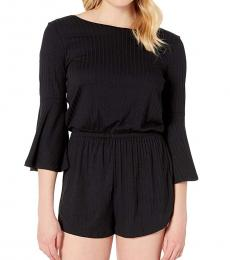 Billabong Black Loose Fit Romper