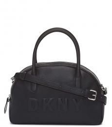 DKNY Black Tilly Dome Large Satchel