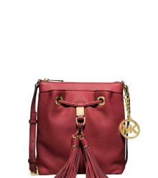 Michael Kors Cherry Camden Small Bucket Bag