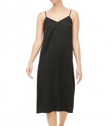 J.Crew Black V-Neck Slip Dress