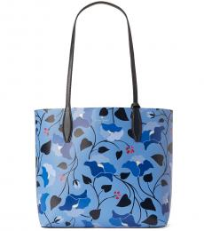 Kate Spade Blue Enchanted Forest Large Tote