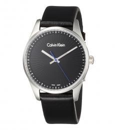 Calvin Klein Black Steadfast Black Dial Watch