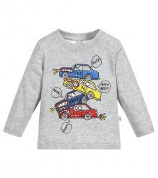 Stella McCartney Baby Boys Light Grey Georgie T-Shirt