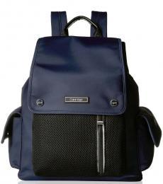 Navy Tali Cargo Pocket Large Backpack