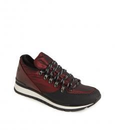 Karl Lagerfeld Cherry Nylon Low Top Sneakers