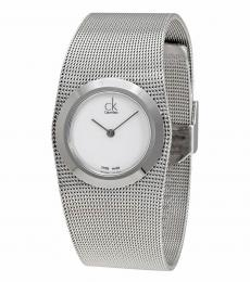 Silver Impulsive White Dial Watch