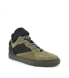 Black Olive Hi Top Sneakers