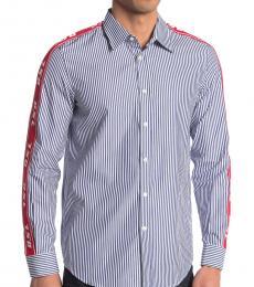 Dark Blue Nori Button-Down Shirt