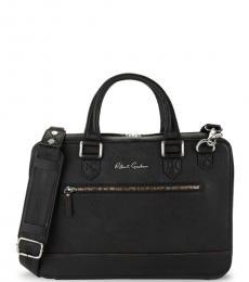 Robert Graham Black Buster Large Briefcase Bag