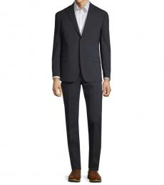 Michael Kors Navy Standard-Fit Micro Suit