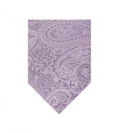 Michael Kors Lilac Perfect Movement Paisley Tie