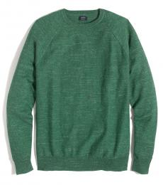 Bottle Green Textured Sweater