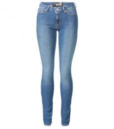 Light Blue Classic Fit Jeans