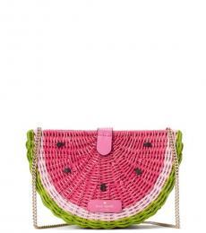 Kate Spade Pink Picnic Perfect Watermelon Small Crossbody