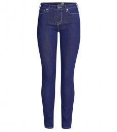 Love Moschino Blue Logo Jeans
