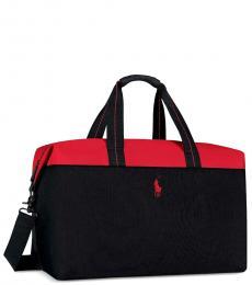 Ralph Lauren Black Weekender Large Duffle Bag