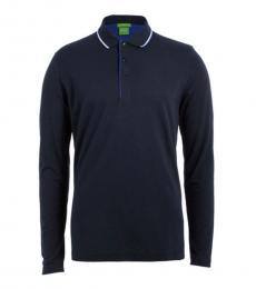 Blue Premium Regular Fit Polo