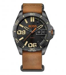 Hugo Boss Brown Berlin Classic Watch