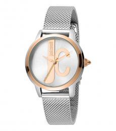 Silver Striking Watch